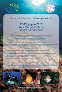 Corso teorico-pratico di Biologia Marina - 2015