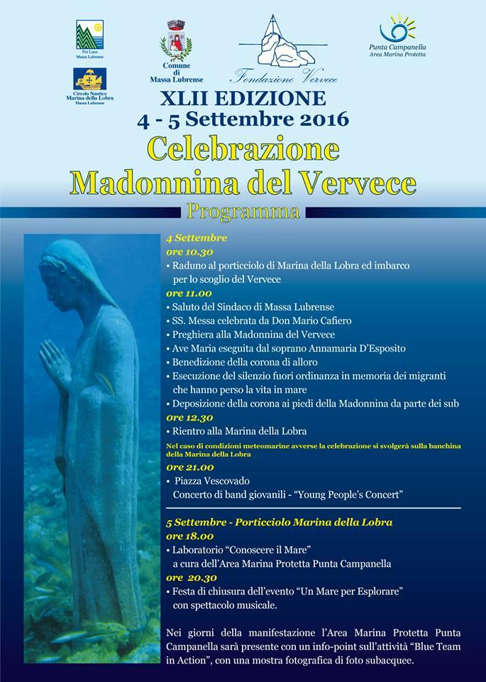 XLII edizione della Festa della Madonnina del Vervece