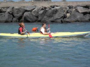 A scuola di canoa con il parco marino