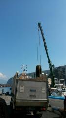 Pulizia fondali Marina di Cassano Piano