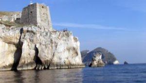 Il faro di Punta Campanella