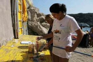 Giornata di pulizia delle spiagge di Puolo dalle cicche di sigaretta