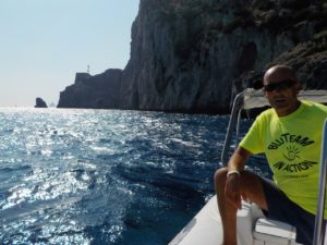 Recupero Caretta caretta al largo di Capri