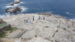 Pulizia sito archeologico Regina Giovanna