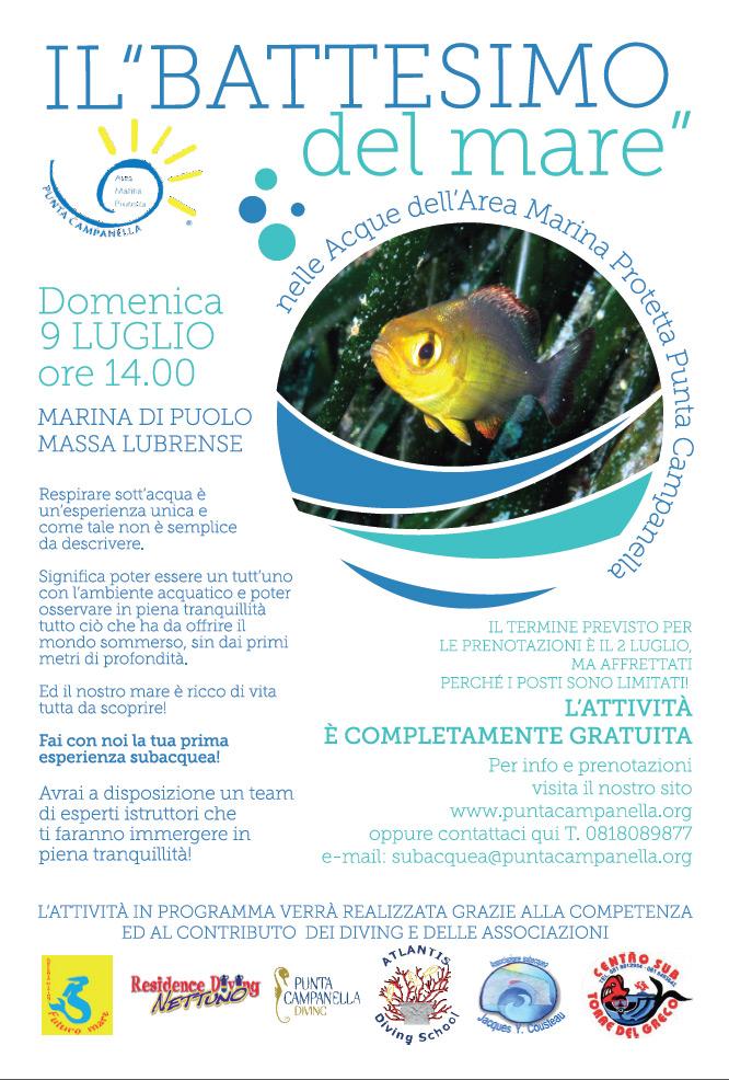Il battesimo del mare 2017 - Locandina